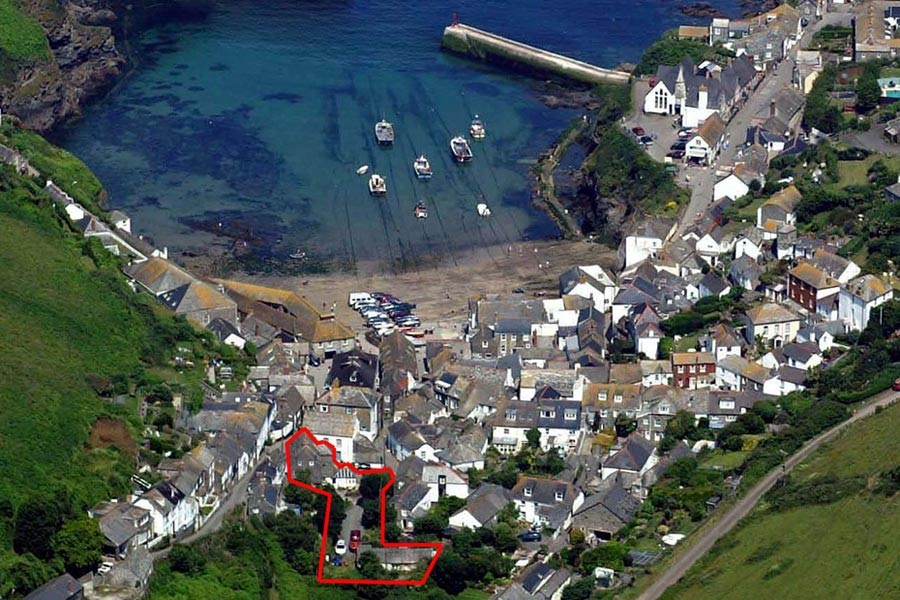 Our Location in Port Isaac